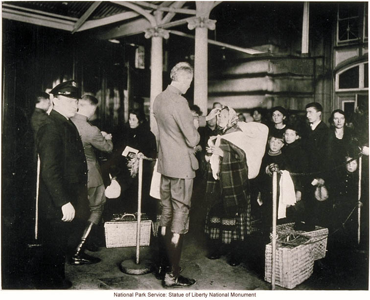 a discussion of the issue of immigration in ellis island At the height of immigration in the early 20th century, with thousands of immigrants entering the united states every day, the initial immigration inspectors did not have enough time to fully investigate each individual suspected of violating the immigration law.