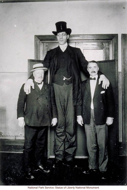Ellis Island Augustus Sherman