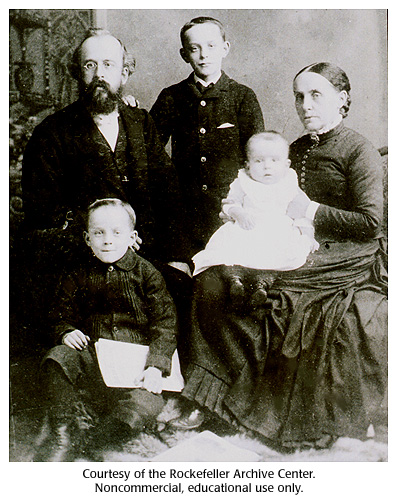 Gallery 17:  Oswald Avery family portrait, 1886.