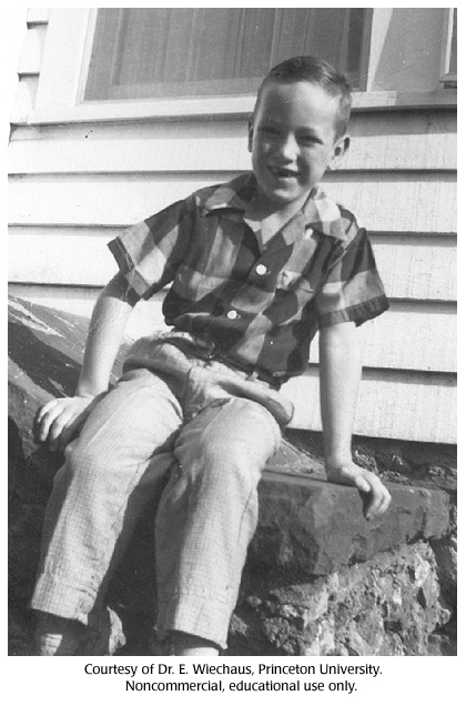 Gallery 37: Eric Wieschaus, five years old